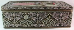 Side of Art Nouveau Fairy Box 57133