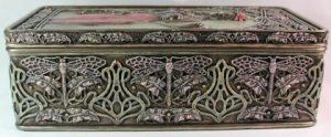 Side of Art Nouveau Fairy Box 57133