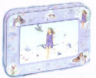 Tree Free Fairy Innocence Greeting Card Tin
