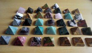 Crystal Pyramid Selection