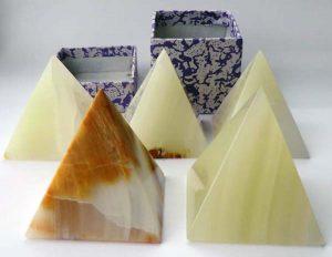 Onyx Crystal Pyramids