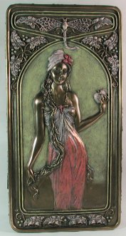 Fairy Statuettes Mirrors And Boxes