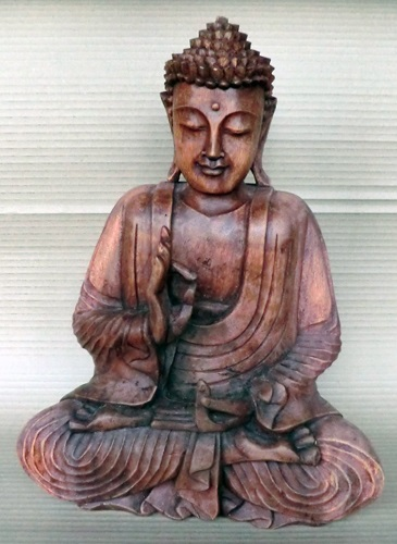 Carved Wooden Buddhas