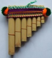 Pan pipes antara 10cm