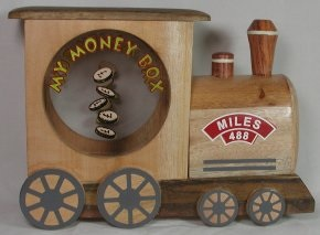 Wooden Money Boxes