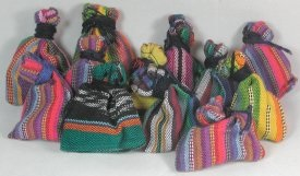 Worry Dolls in Bags